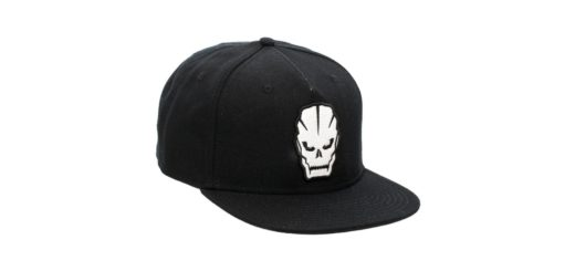 Call of Duty Black Ops 3 flat bill snapback skull logo