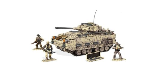 Call of Duty Mega Bloks Desert Tank Buildable Collector Set